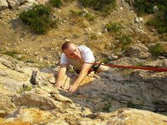 Rock Climbing Photo: Christopher climbing in Ogden.