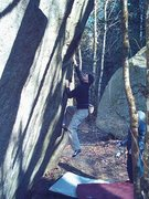 Rock Climbing Photo: Leroy on Precious Metals V2