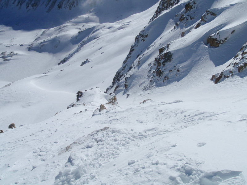 Rock Climbing Photo: Mt. Democrat winter ski descent