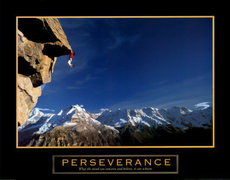 Rock Climbing Photo: Perseverance