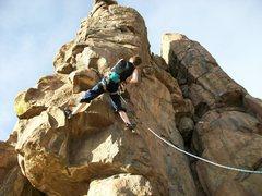 Rock Climbing Photo: new river gorge homesick blues 5.9+ Photo 3
