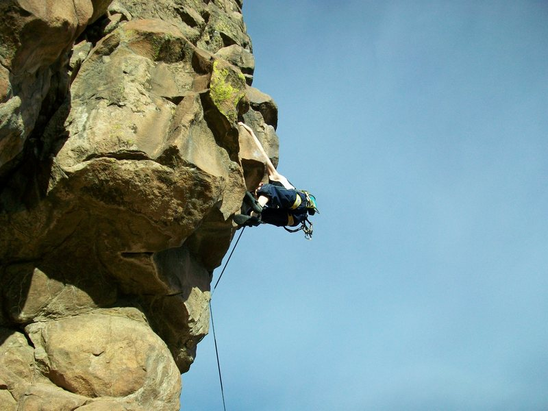 Rock Climbing Photo: new river gorge homesick blues 5.9+ Photo 4
