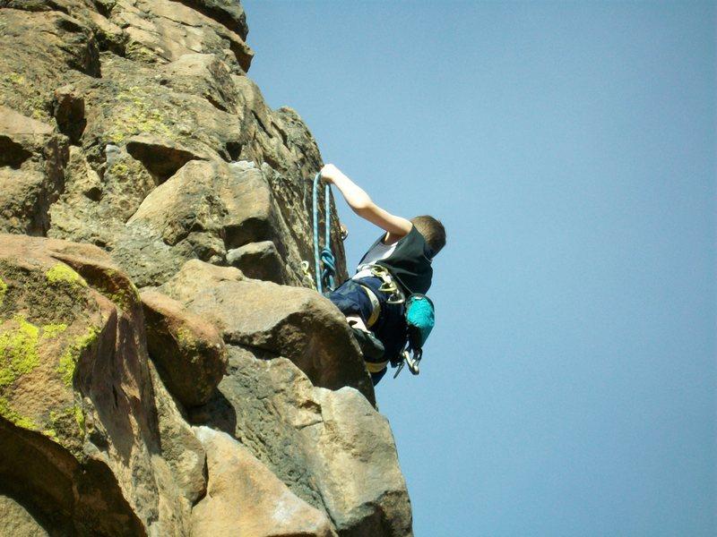 Rock Climbing Photo: new river gorge homesick blues 5.9+ Photo 7