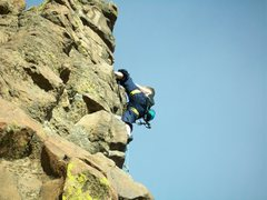 Rock Climbing Photo: new river gorge homesick blues 5.9+ Photo 8