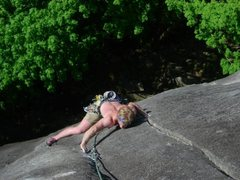 Rock Climbing Photo: Japanese gradens pitch 1