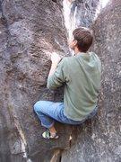 "Rock Climbing Photo: ""The Homestead"" (attempt)"