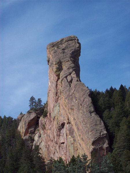 Rock Climbing Photo: Southeast face of the Matron. Photo: Bob Horan col...