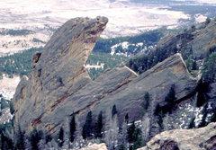 Rock Climbing Photo: Maiden's West Overhang. Photo: Bob Horan Collectio...