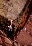 Rock Climbing Photo: Bob Horan making repeat ascent without jug hold at...
