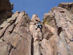 Rock Climbing Photo: Me on T&J.