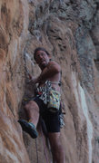 Rock Climbing Photo: Yeah that's me shortly before I vomited when I pul...