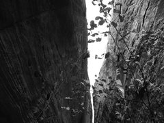 Rock Climbing Photo: Unknown climber on the beautiful climb Monster Ska...