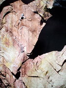 Rock Climbing Photo: Bob Horan repeating Genesis, circa 1984. Photo; Bo...