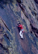 Rock Climbing Photo: Bob Horan on 1st ascent of The Gem.
