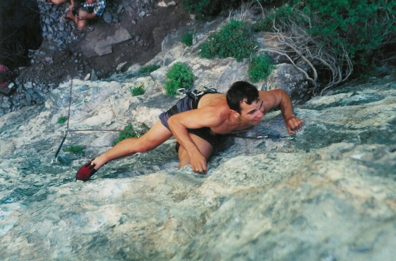 Rock Climbing Photo: Liquid Oxygen.