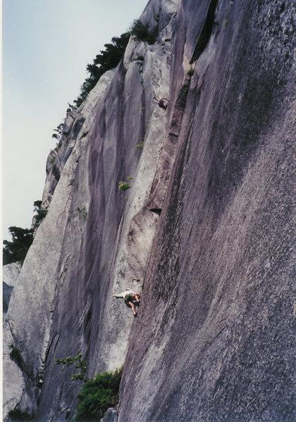 Rock Climbing Photo: Diedre.
