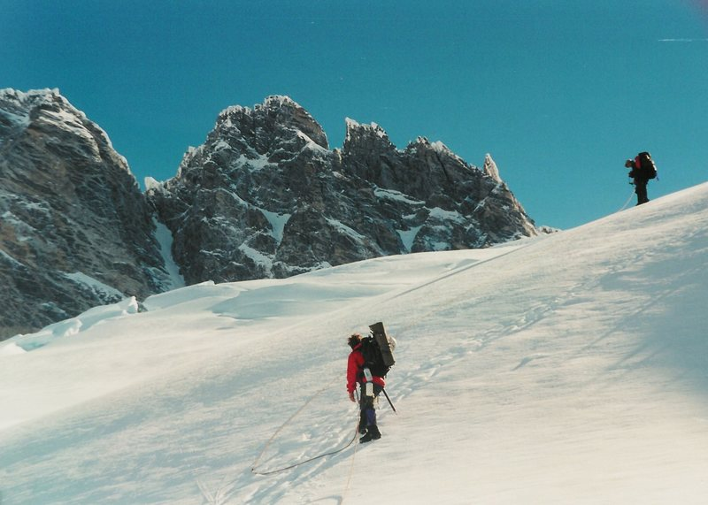 The South Face of Mt Waddington, June 2000.