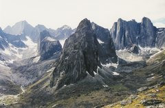 Rock Climbing Photo: The Cirque.  Mt Proboscis is on the left, Lotus Fl...