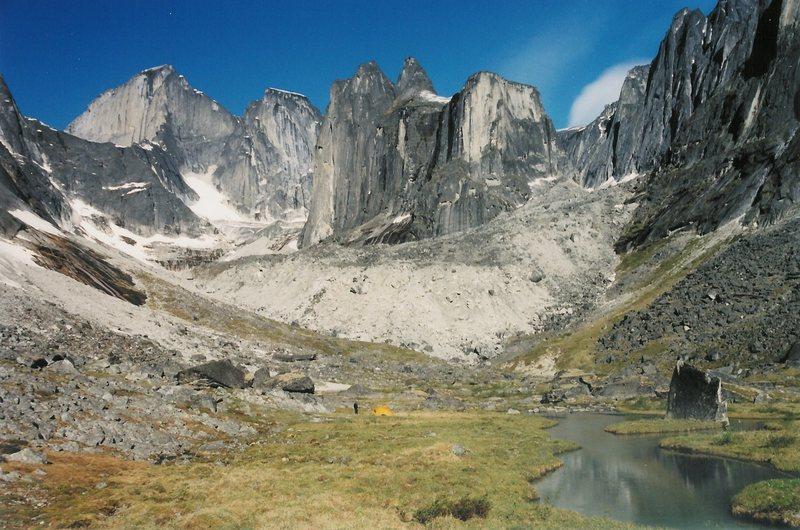 Mt Proboscis (on the left) from Fairy Meadow.