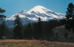 Rock Climbing Photo: El Pico de Orizaba, 18,701 ft, is the highest peak...