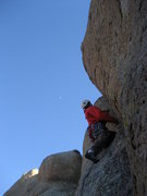 Rock Climbing Photo: A flattering shot of the start of the route