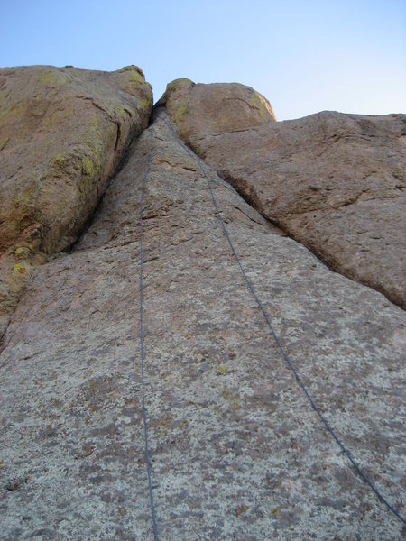 "Rock Climbing Photo: The ""A"" formation"
