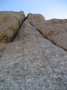"""Rock Climbing Photo: The """"A"""" formation"""