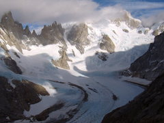 Rock Climbing Photo: Cerro Torre area-