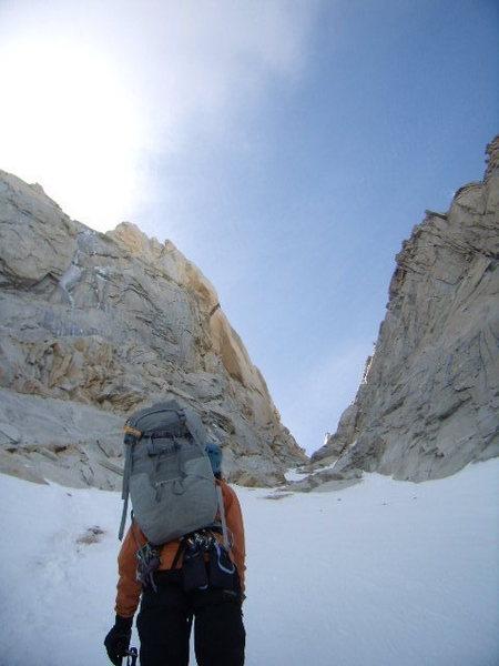approach gully for de la S.