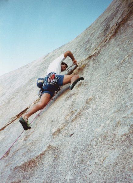 Rock Climbing Photo: Just starting