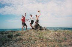Rock Climbing Photo: Devil's Tower, 2001