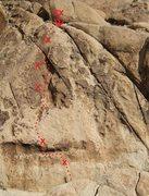 Rock Climbing Photo: Shattered