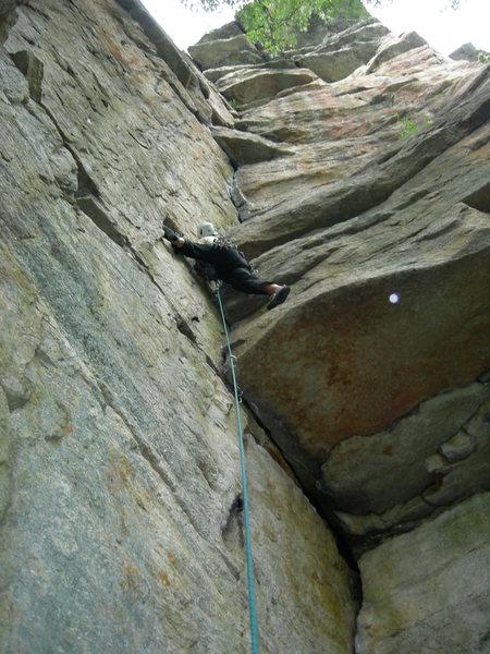 Rock Climbing Photo: Ant's Line, Gunks, NY