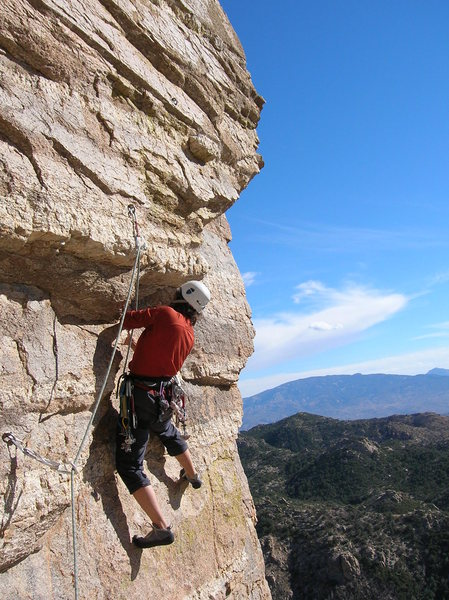 Rock Climbing Photo: Birthday Girl, Mt Lemmon, AZ