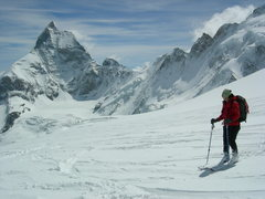 Rock Climbing Photo: Haute Route, near Zermatt, Switzerland