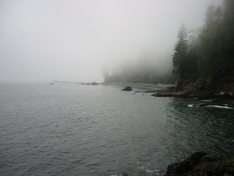 Rock Climbing Photo: Classic west coast of Vancouver Island.  This is j...