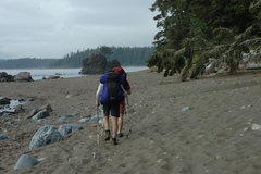 Rock Climbing Photo: On the West Coast Trail.