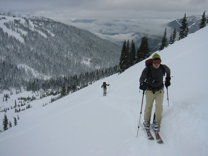 Rock Climbing Photo: Backcountry skiing in Whistler.  I think this is C...