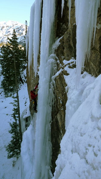Rock Climbing Photo: Me about halfway done with the business.  Photo by...