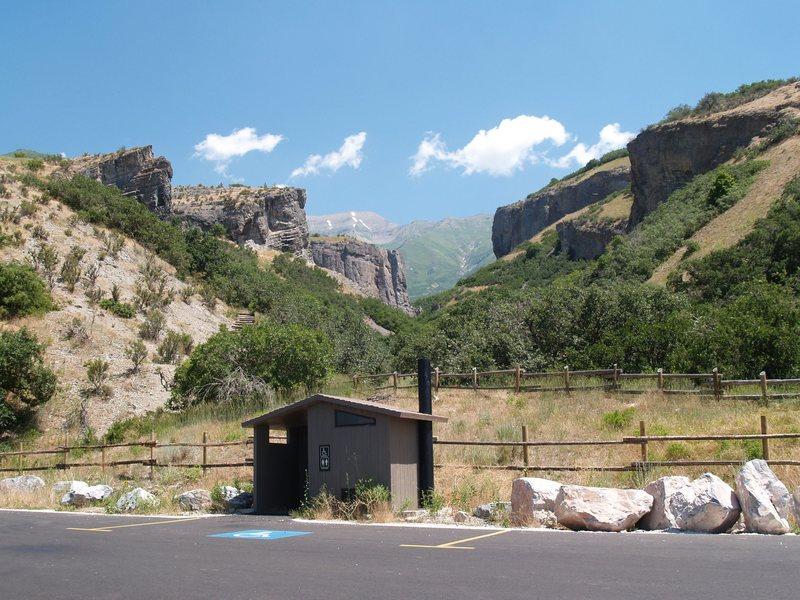 Rock Climbing Photo: Dry Canyon