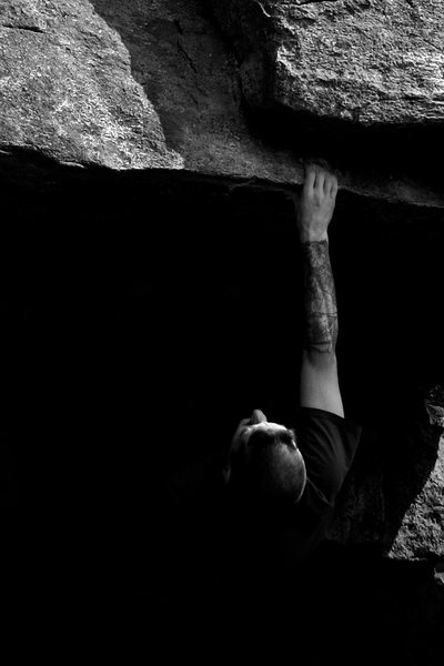 Rock Climbing Photo: overlooked is one of the best problems ive done an...