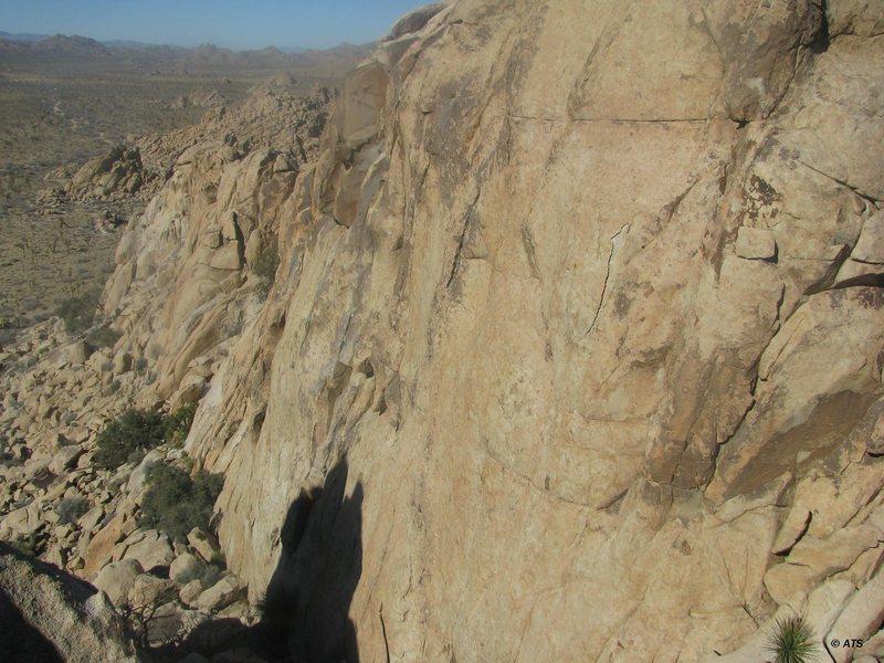 Rock Climbing Photo: Freeway Wall