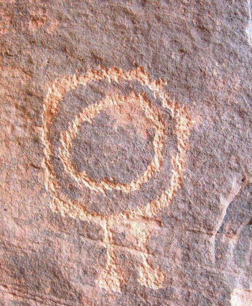 Paria Canyon, UT, Petroglyph