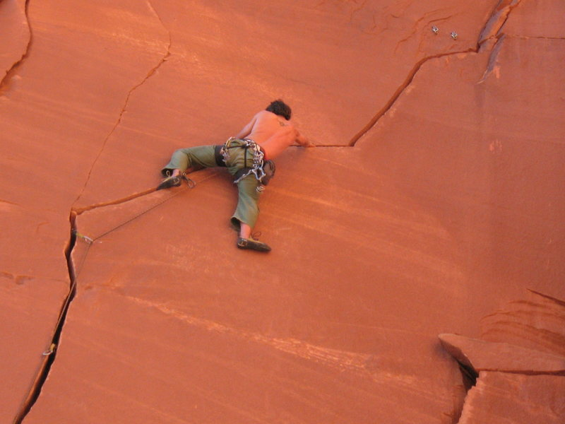 Rock Climbing Photo: evan