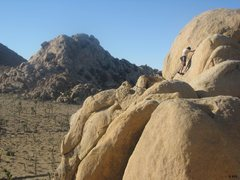Rock Climbing Photo: Another stunning January day of romping around in ...