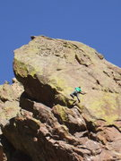 Rock Climbing Photo: Climbing the Wishbone: photo: Bob Horan Collection...