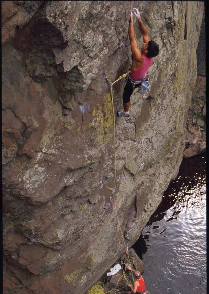 Rock Climbing Photo: Bob Horan on Escape from Alcatraz.