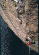 Rock Climbing Photo: Bob Horan on Red Neck Hero.