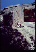 Rock Climbing Photo: Bob Horan on 1st ascent of The Separator.