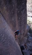 Rock Climbing Photo: Eric Whitbeck leading Dreamscape